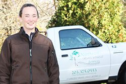 Kate Odell, Licensed Arborist with Northeast Horticultural Services